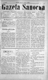 Gazeta Sanocka, 1896, nr 62