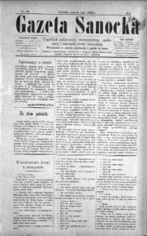 Gazeta Sanocka, 1896, nr 66