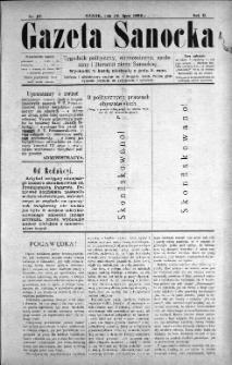 Gazeta Sanocka, 1896, nr 67