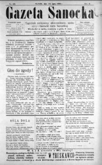 Gazeta Sanocka, 1896, nr 68