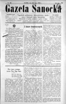 Gazeta Sanocka, 1896, nr 69