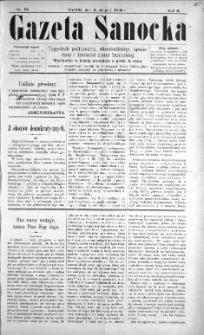 Gazeta Sanocka, 1896, nr 70