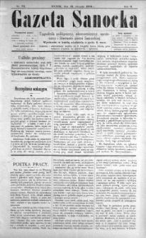 Gazeta Sanocka, 1896, nr 72