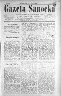 Gazeta Sanocka, 1896, nr 74