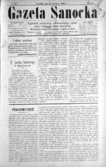 Gazeta Sanocka, 1896, nr 75