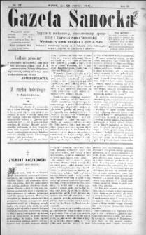 Gazeta Sanocka, 1896, nr 77