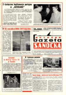 "Gazeta Sanocka ""Autosan"", 1980, nr 13-15"