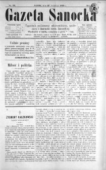 Gazeta Sanocka, 1896, nr 78