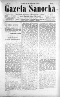 Gazeta Sanocka, 1896, nr 79