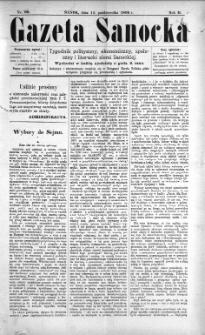 Gazeta Sanocka, 1896, nr 80
