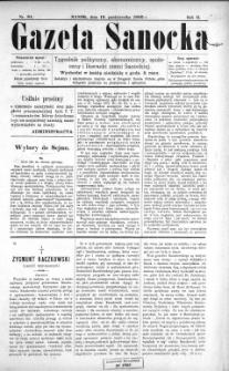 Gazeta Sanocka, 1896, nr 81
