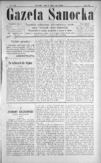 Gazeta Sanocka, 1896, nr 84
