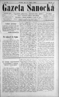 Gazeta Sanocka, 1896, nr 85