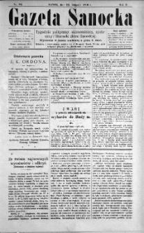 Gazeta Sanocka, 1896, nr 86