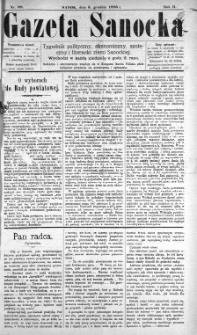 Gazeta Sanocka, 1896, nr 88