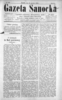 Gazeta Sanocka, 1896, nr 89