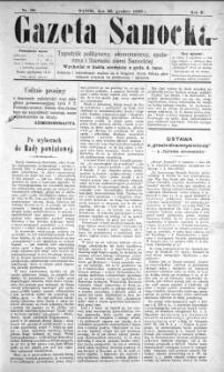 Gazeta Sanocka, 1896, nr 90