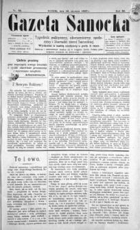 Gazeta Sanocka, 1897, nr 93