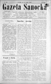 Gazeta Sanocka, 1897, nr 98