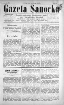 Gazeta Sanocka, 1897, nr 99