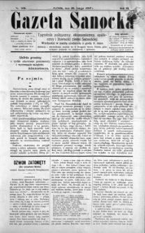 Gazeta Sanocka, 1897, nr 100