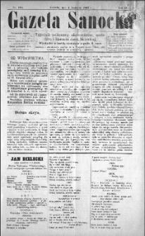 Gazeta Sanocka, 1897, nr 105