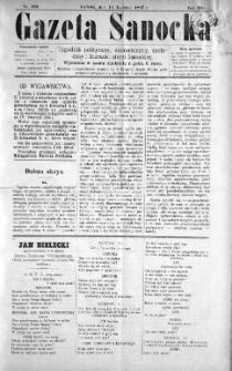 Gazeta Sanocka, 1897, nr 106