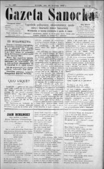 Gazeta Sanocka, 1897, nr 107