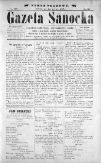Gazeta Sanocka, 1897, nr 108