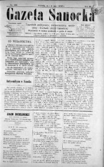 Gazeta Sanocka, 1897, nr 109