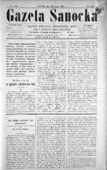 Gazeta Sanocka, 1897, nr 113