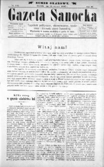 Gazeta Sanocka, 1897, nr 115
