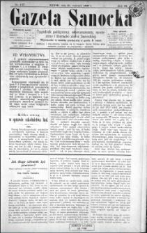 Gazeta Sanocka, 1897, nr 117