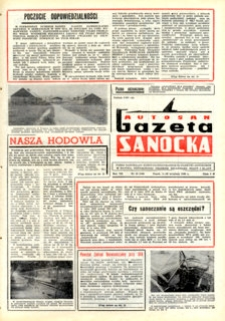 "Gazeta Sanocka ""Autosan"", 1980, nr 25-27"