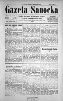 Gazeta Sanocka, 1904, nr 3