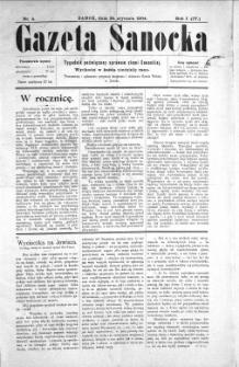 Gazeta Sanocka, 1904, nr 4
