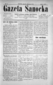 Gazeta Sanocka, 1904, nr 5