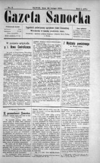 Gazeta Sanocka, 1904, nr 9