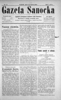 Gazeta Sanocka, 1904, nr 11