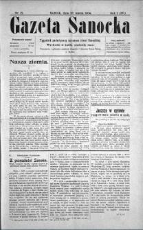 Gazeta Sanocka, 1904, nr 12