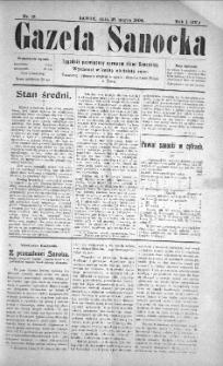 Gazeta Sanocka, 1904, nr 13