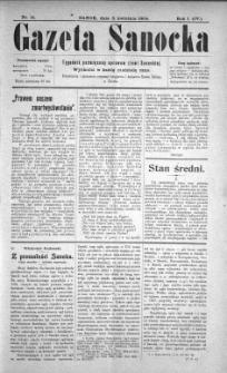 Gazeta Sanocka, 1904, nr 14