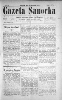 Gazeta Sanocka, 1904, nr 15