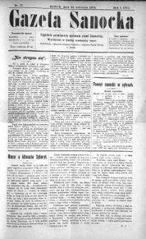Gazeta Sanocka, 1904, nr 17