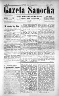 Gazeta Sanocka, 1904, nr 18