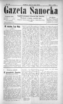 Gazeta Sanocka, 1904, nr 19