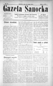 Gazeta Sanocka, 1904, nr 21