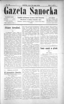 Gazeta Sanocka, 1904, nr 22