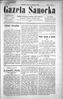 Gazeta Sanocka, 1904, nr 23
