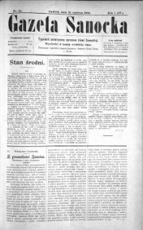Gazeta Sanocka, 1904, nr 24